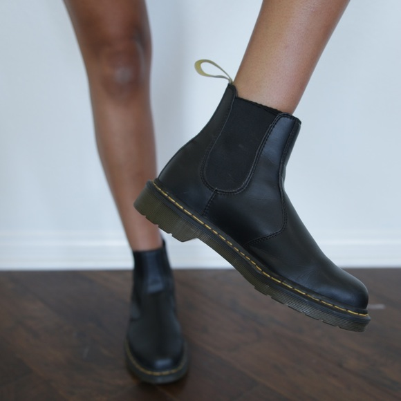 latest style good out x price remains stable Vegan Dr. Martens 2976 Chelsea Boot
